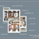Квартира от Кировспецмотажа - 159 кв.м.