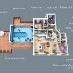 Квартира от Кировспецмотажа - пентхаус с бассейном и террасой