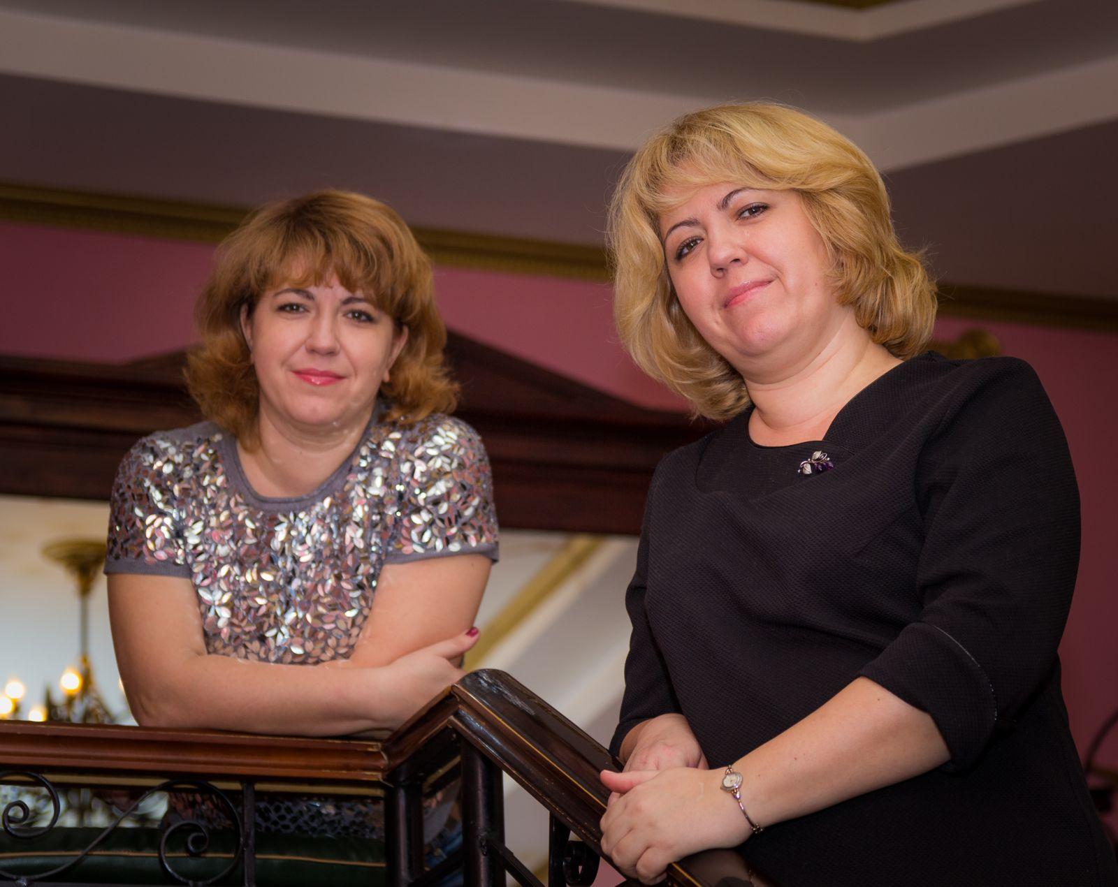 Юлия Денисенко и Ольга Шилина