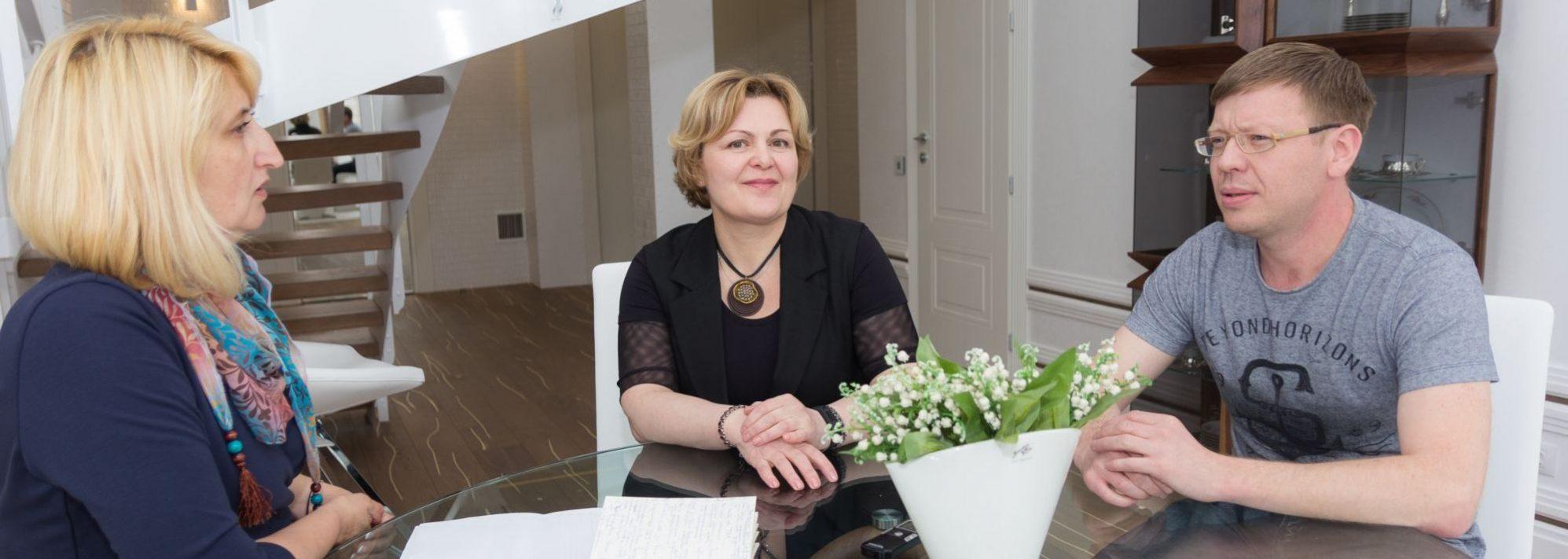 Татьяна Сержантова и Олег Коровкин