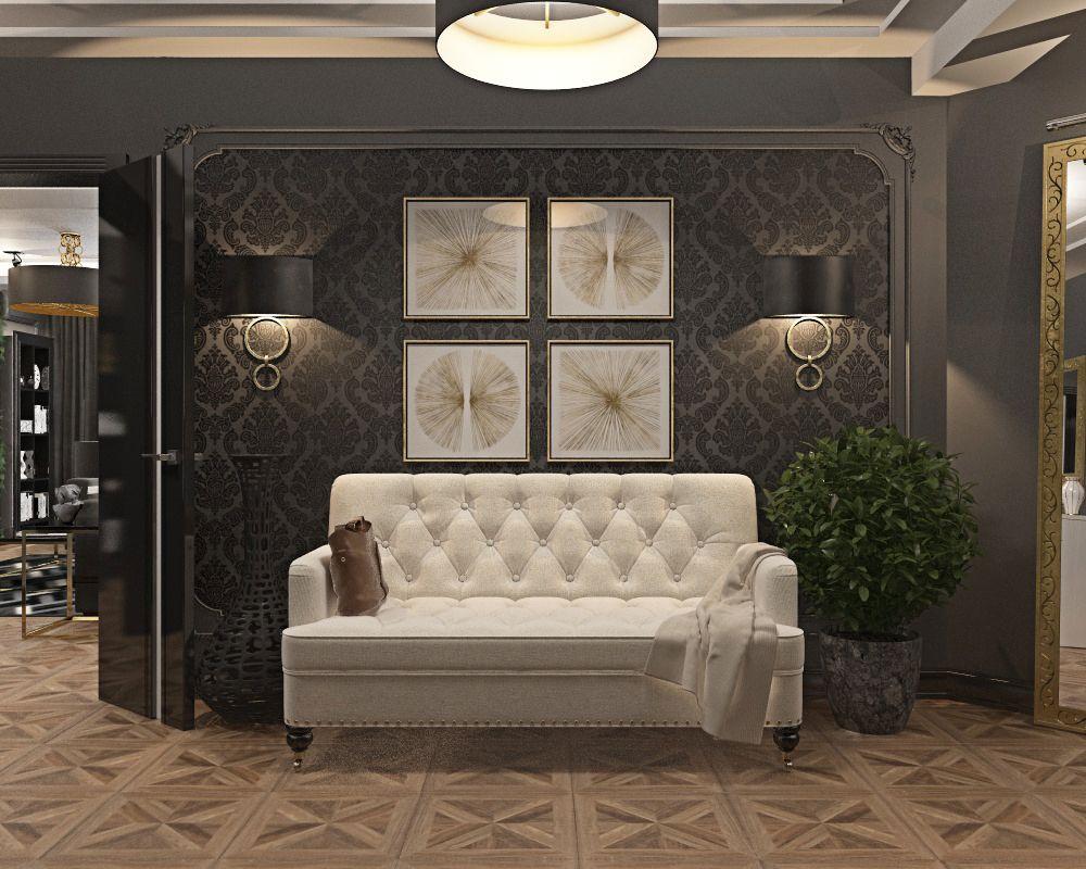 Квартира в стиле Дольче и Габбана | дизайнер Илья Чулков