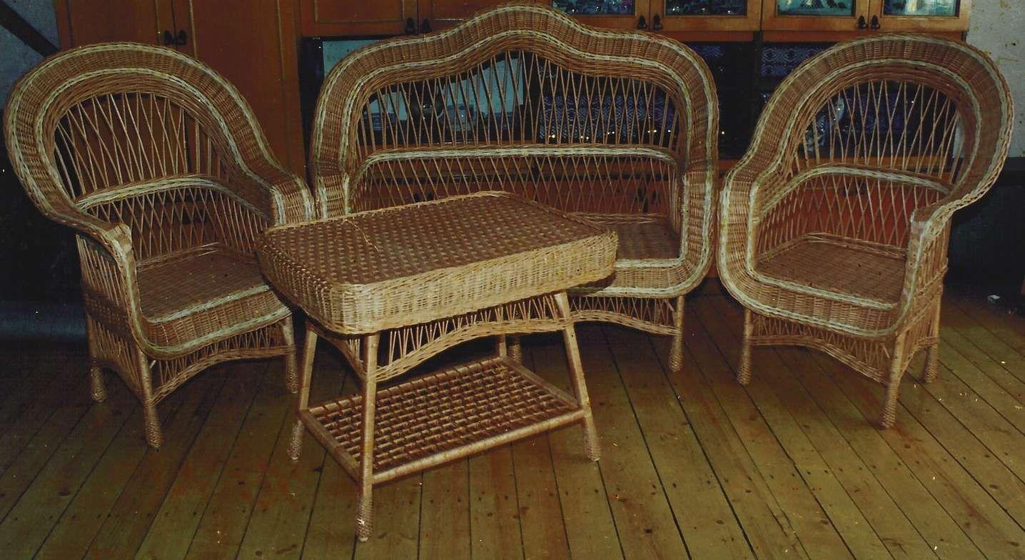 История в деталях | плетёная мебель