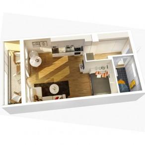 Квартира-студия: каждый метр – в дело