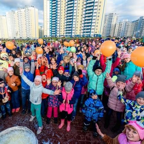День защиты детей в мкр. «Чистые пруды»