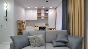 Проект городской квартиры Натальи Устиновой, дизайн интерьеров Алина Вейнкрот