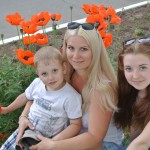 Светлана Опалева со своей семьёй